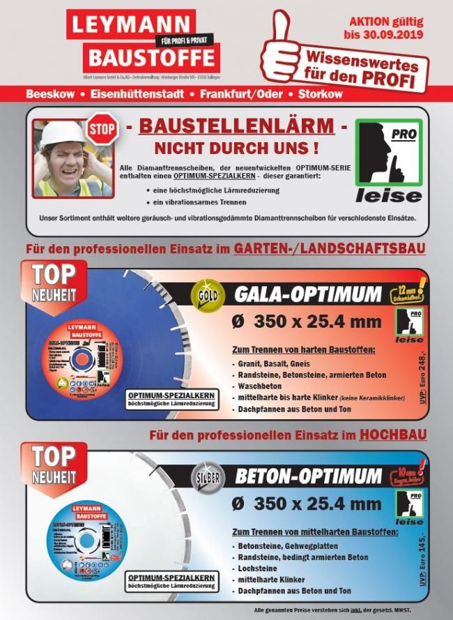 Disc Aktion Leymann Baustoffe 2019
